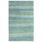 Liora Manne Piazza Stripes Indoor Rug Sea Breeze 5'X7'6""