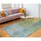 """Liora Manne Piazza Watercolors Indoor Rug Sea Breeze 5'X7'6"""""""