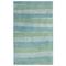 "Liora Manne Piazza Stripes Indoor Rug Sea Breeze 8'3""X11'6"""