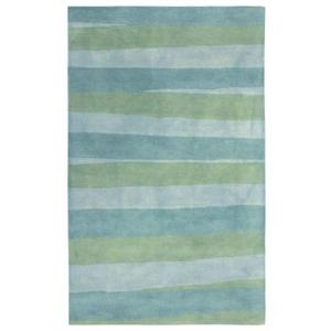 Liora Manne Ombre Stripes Indoor Rug Blue