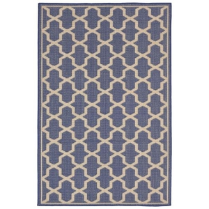 "Geo marine Indoor/Outdoor Rug 23""X7'6"""