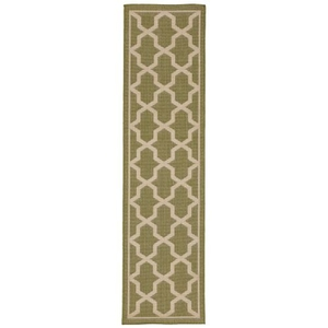 "Geo Meadow Indoor/OutdoorRug  23""X7'6"""