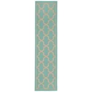 Liora Manne Visions I Sand Dollar Indoor/Outdoor Pillow Blue
