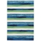 """Liora Manne Visions Ii Painted Stripes Indoor/Outdoor Rug Cool 24""""X36"""""""