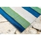 "Liora Manne Visions II Painted Stripes Indoor/Outdoor Rug Cool 42""x66"""