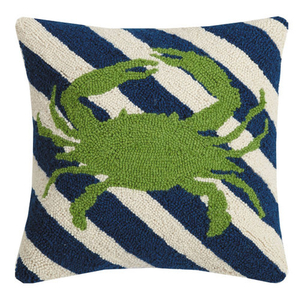 Crab Stripes Hook Pillow