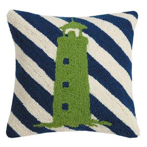 Lighthouse Stripes Hook Pillow