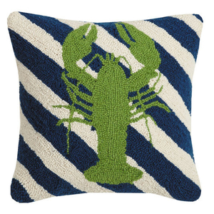 Lobster Stripes Hook Pillow