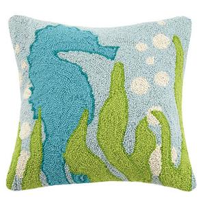 Seaweed Seahorse Hook Pillow