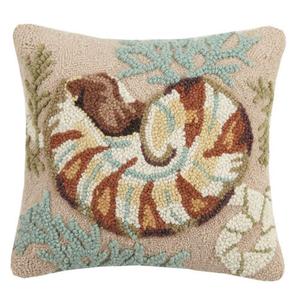 """Nautilus Hook Pillow 16x16"""""""