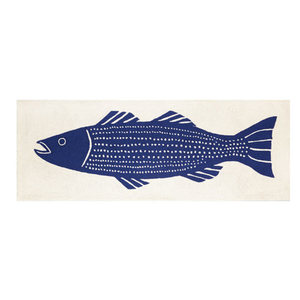 Big Striper Hook Rug 2.5X7 FT