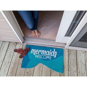 Mermaids Welcome Coir Doormat
