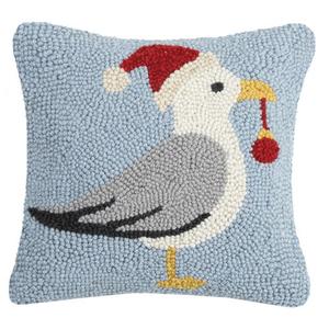 Christmas SeaGull Hook Pillow