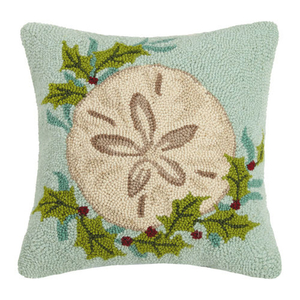 Holiday Sand Dollar Hook Pillow