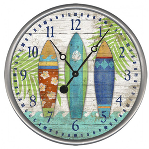 Surfboards Clock