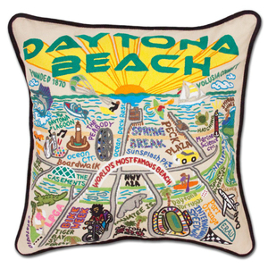 Daytona Beach Pillow