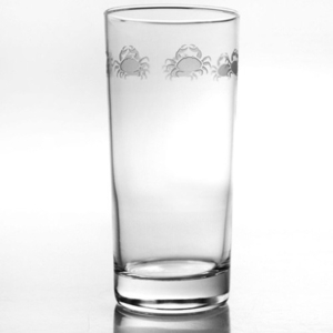 Cast of Crabs Cooler Highball Glasses  Set of 4