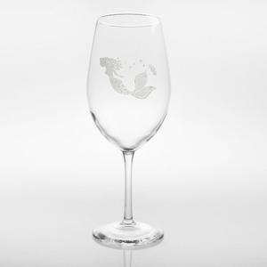 Mermaid All Purpose Large Wine Glasses  Set of 4