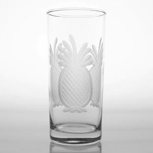 Pineapple Cooler Highball Glass Set of 4
