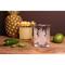 Pineapple DOF Glass Set of 4