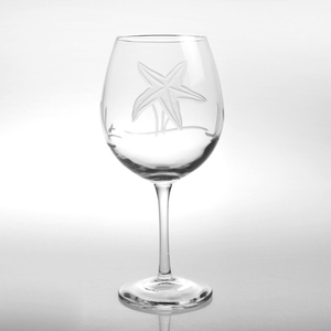 Starfish Balloon Wine Glasses (set of 4)
