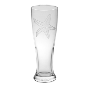Starfish Beer Pilsner Glasses (set of 4)