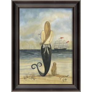LoveSick on Friday Mermaid Framed Art