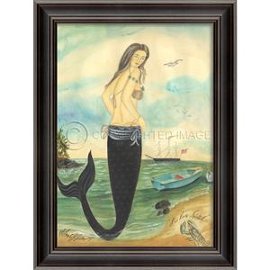 I've Been Spotted- Mermaid Framed Art