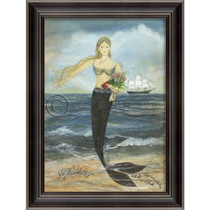 All Her Days Mermaid Framed Art
