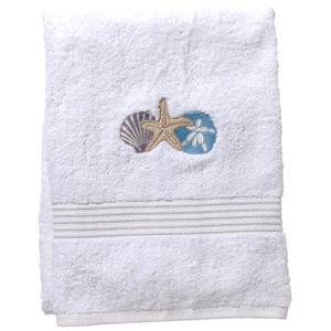 "Shell Trio Terry Towel 20""x35"" S/2"