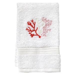 "Coral (Coral) Terry Towel 12""x19"""