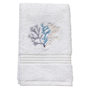 """Coral (Duck Egg Blue) Terry Towel 12""""x19"""""""