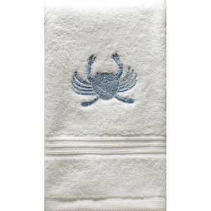 "Blue Crab Terry Towel 12""x19"""