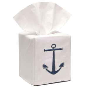Anchor Tissue Box Cover