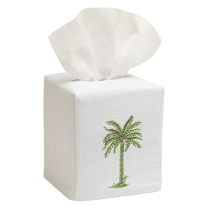 Palm Tree Tissue Box Cover