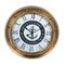 Nautical Brass Anchor Clock