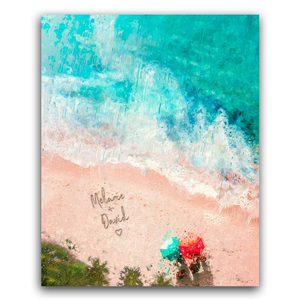 Sandy Shore Print -Personalized