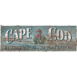 Latitude Cape Cod Wall Art