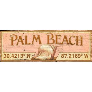 Latitude Palm Beach Wall Art
