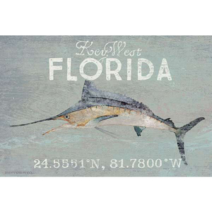 Personalized Marlin Wall Art