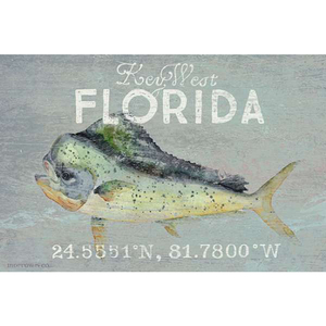 Personalized Mahi Wall Art