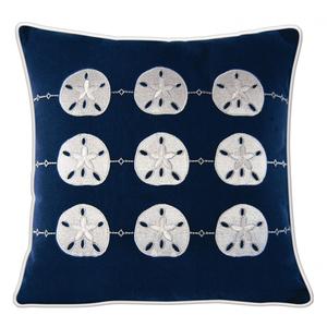 Sand Dollar Pattern Pillow - Outdoor Sunbrella®