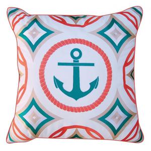 Modern Anchor Pillow - Outdoor Sunbrella®