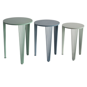 Multi Colored Set of Nested Tables