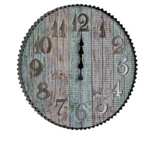 "Coastal 24"" Time Round Clock"