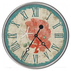 Personalized Sea Fan Clock