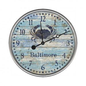 Personalized Crab Clock