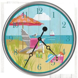 Sitting Pretty Clock