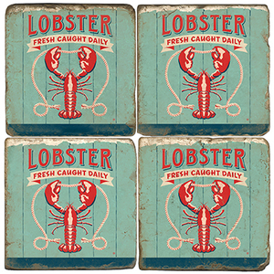 Lobster Coasters (Set Of 4)