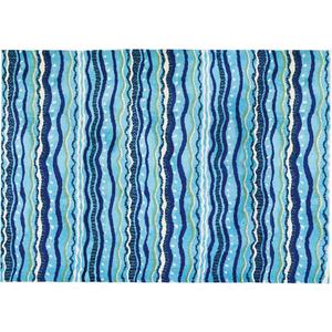 Wavey Stripes Rug, 3' x 5'